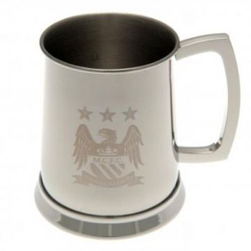 Manchester City Stainless Steel Tankard